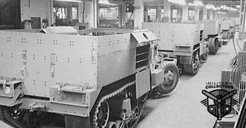 M2 Halftrack Assembly