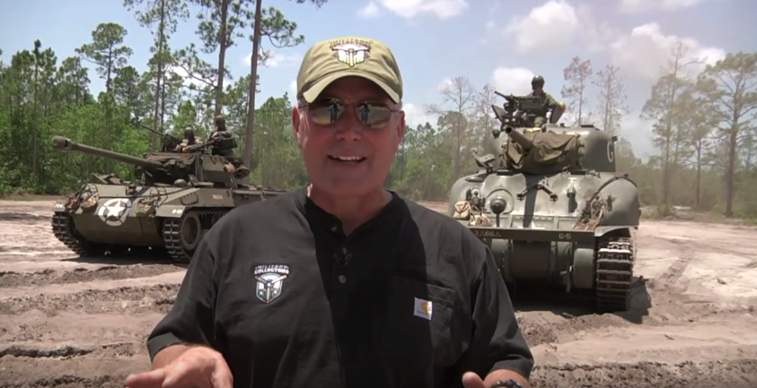 Bob with tanks
